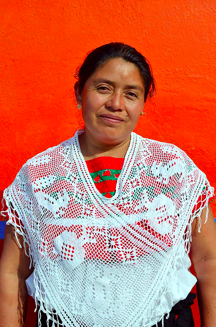 Christina designs handmade threads from generations of tradition.
