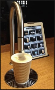iPad coffee machine