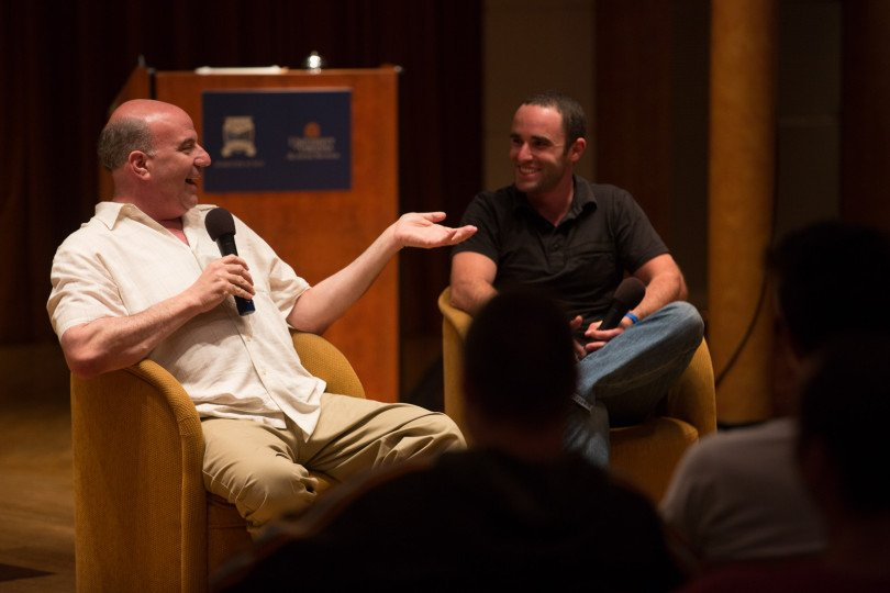 Boarding the ship in Ghana was Unreasonable Mentor Jeff Hoffman, founder of Priceline.com who gave a fireside chat as we sailed to Morocco.
