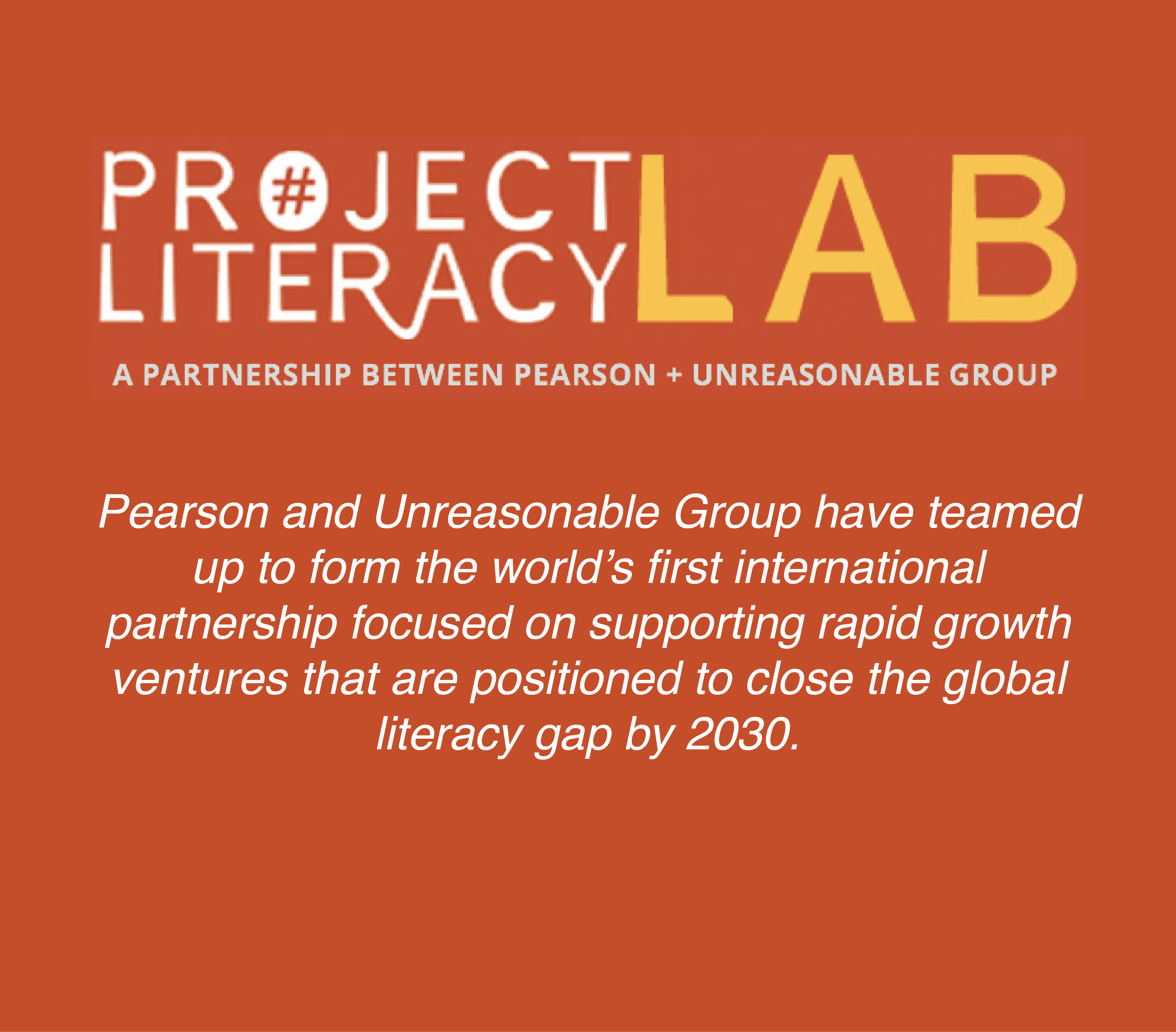 Made Possible in Partnership with Pearson