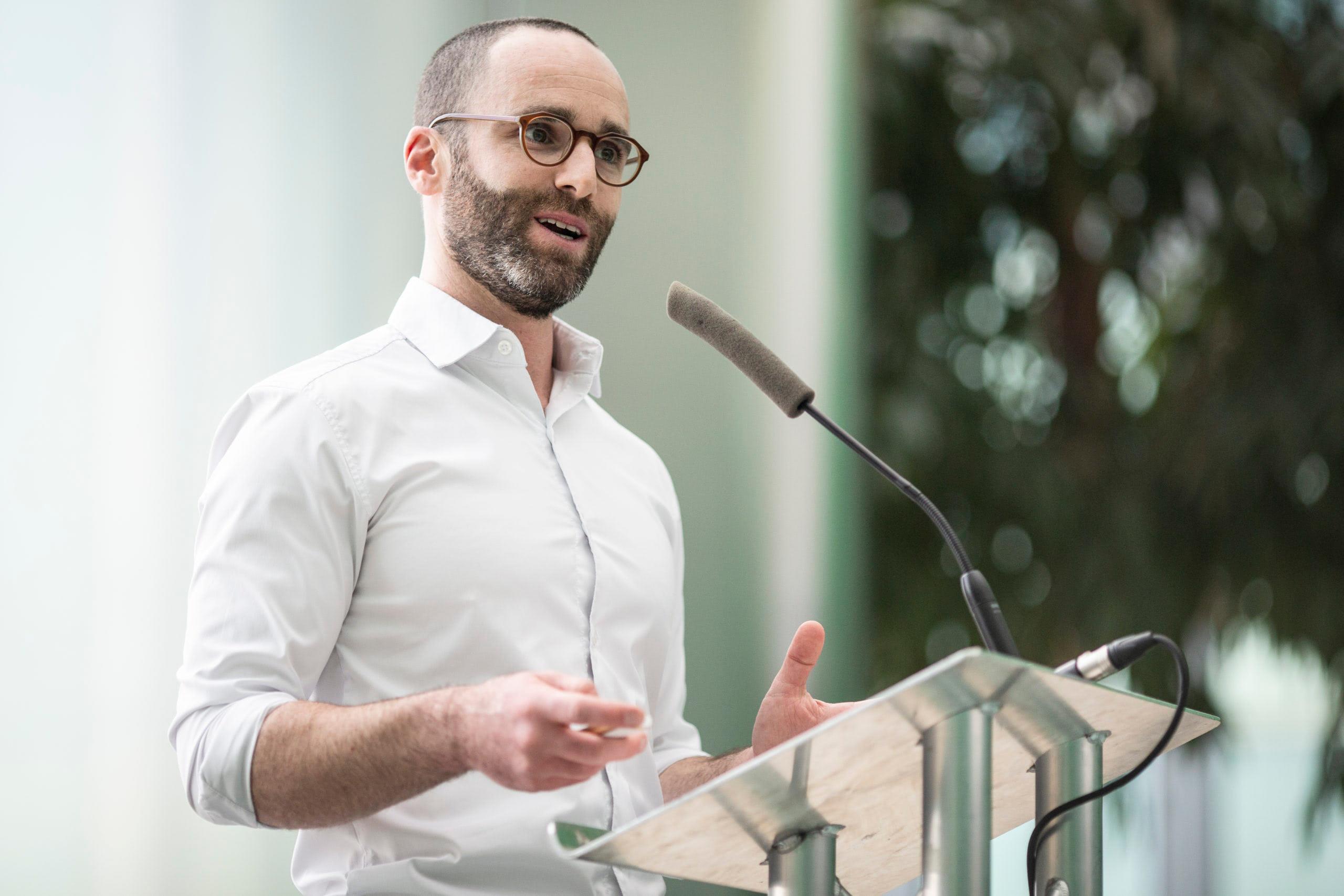 Daniel Epstein speaking